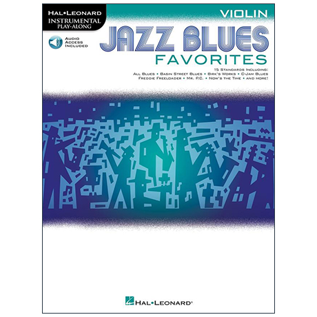 Jazz Blues Favorites for Violin (+ Online Audio)