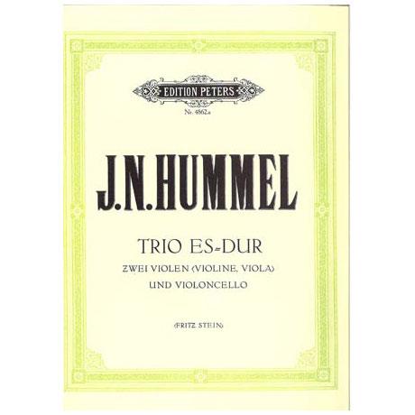 Hummel, J. N.: Streichtrio Nr. 1 Es-Dur