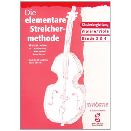 Die elementare Streichermethode - Band 3 & 4