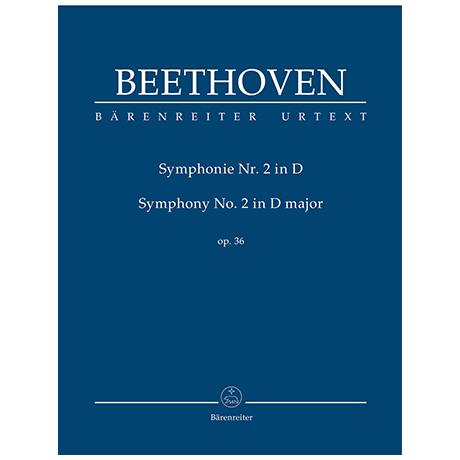 Beethoven, L. v.: Symphonie Nr. 2 D-Dur Op. 36