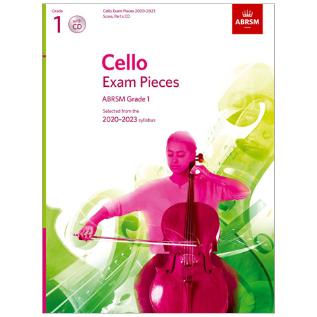 ABRSM: Cello Exam Pieces Grade 1 (2020-2023) (+CD)