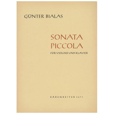 Bialas, G.: Sonata piccola