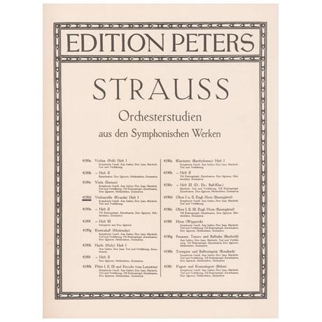 Strauss, R.: Orchesterstudien Band 1