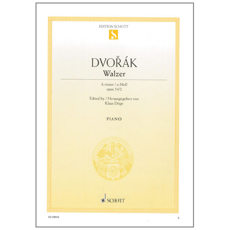 Dvořák, A.: Walzer A-Moll Op.54 Nr.2