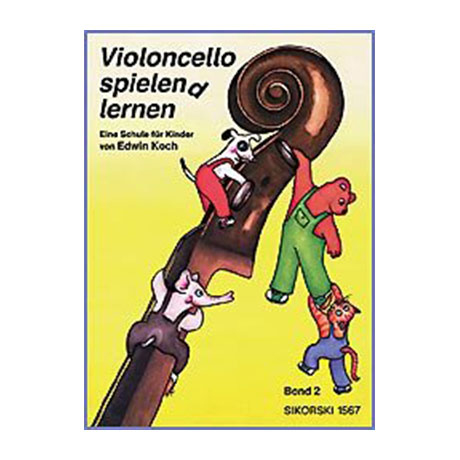 Koch, E.: Violoncello spielen(d) lernen Band 2