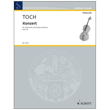Toch, E.: Cellokonzert Op. 35