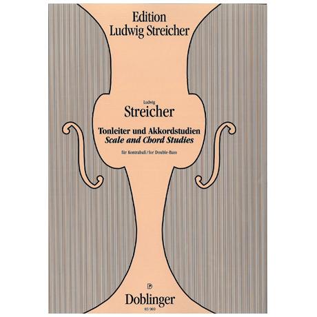 Streicher, L.: Tonleitern und Akkordstudien Streicher Edition