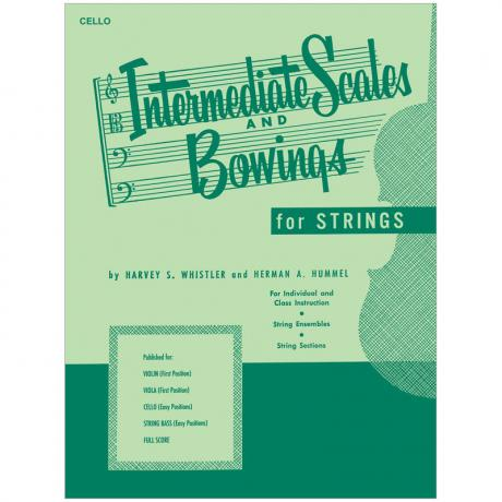 Whistler, H. S.: Intermediate Scales And Bowings – Cello