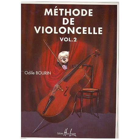 Bourin, O.: Méthode de violoncelle Vol. 2