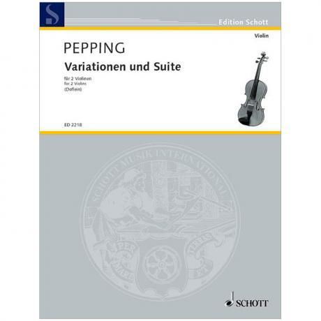 Pepping, E.: Variationen und Suite