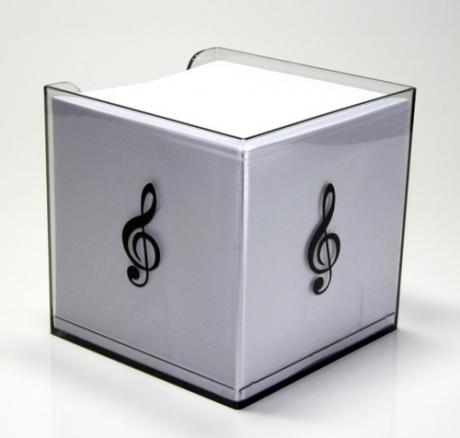 Boîte bloc-notes MUSIC