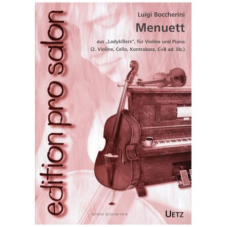Boccherini, L.: Menuett aus Ladykillers