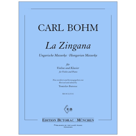 Bohm, C.: La Zingana – Ungarische Mazurka