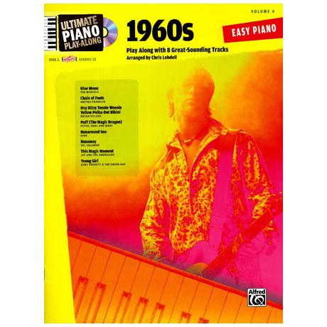 Ultimate Piano Play-Along - 1960s (+CD)