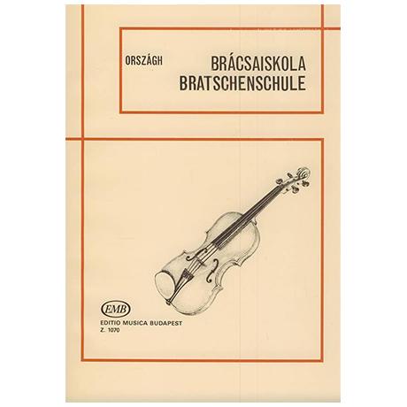 Országh, T.: Bratschenschule