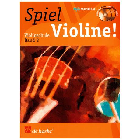 Elst, J. v.: Spiel Violine Band 2 (+ 2 CD´s)
