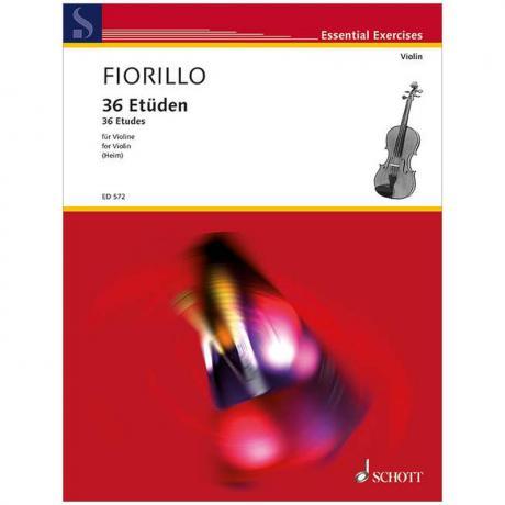 Fiorillo, F.: 36 Etüden oder Capricen Op. 3