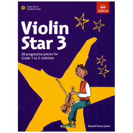 Jones, E. H.: Violin Star 3 (+CD)