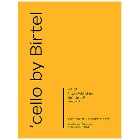 Rubinstein, A.: Melodie in F Op. 3/1
