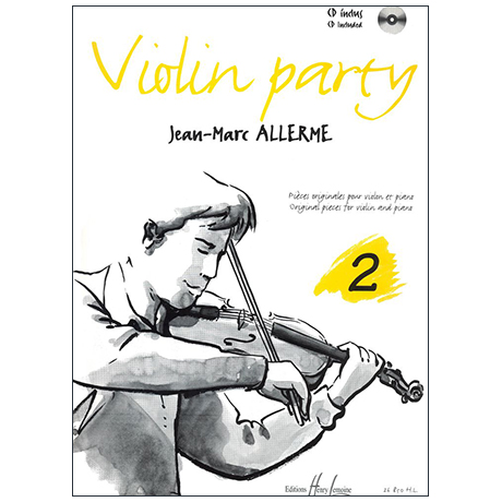 Allerme, J.-M.: Violin Party Band 2 (+CD)