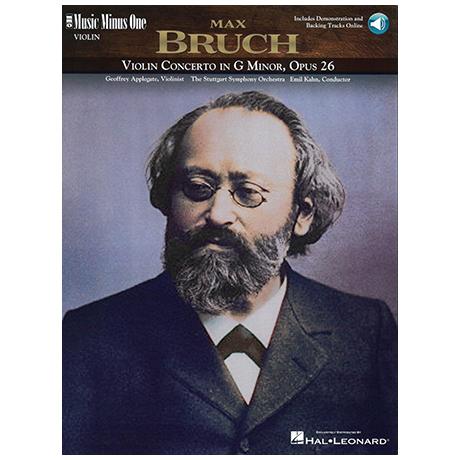 Bruch, M.: Violinkonzert g-Moll Op. 26 (+OnlineAudio)