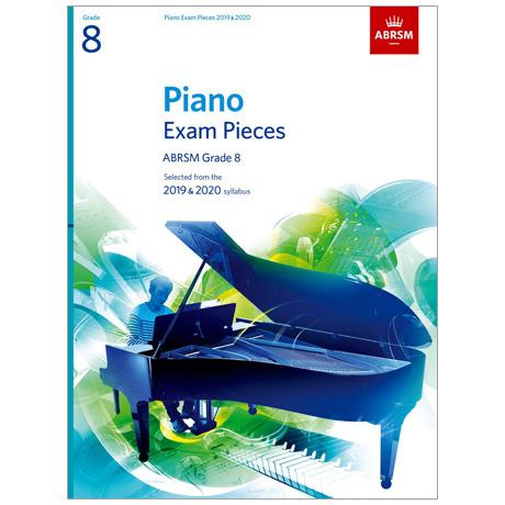 ABRSM: Piano Exam Pieces Grade 8 (2019-2020)