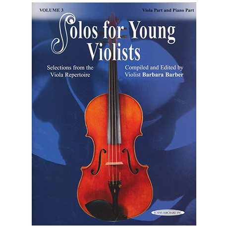 Solos for Young Violists Vol. 3