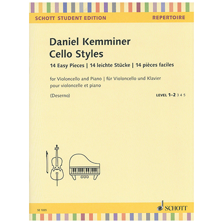 Kemminer, D.: Cello Styles – 14 Easy Pieces