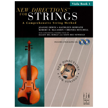 New Directions for Strings - Viola Book 1 (+CD)