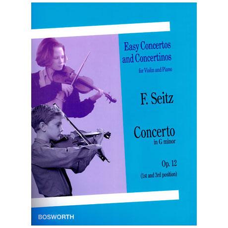 Seitz, F.: Violinkonzert Op. 12 G -Dur
