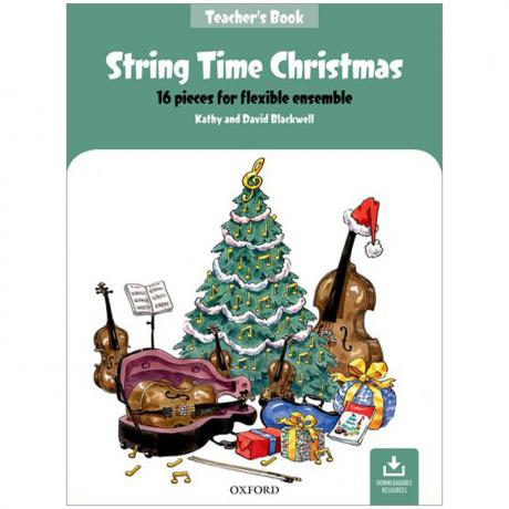 Blackwell, K. & D.: String Time Christmas – Teachers Book (+Online Audio)