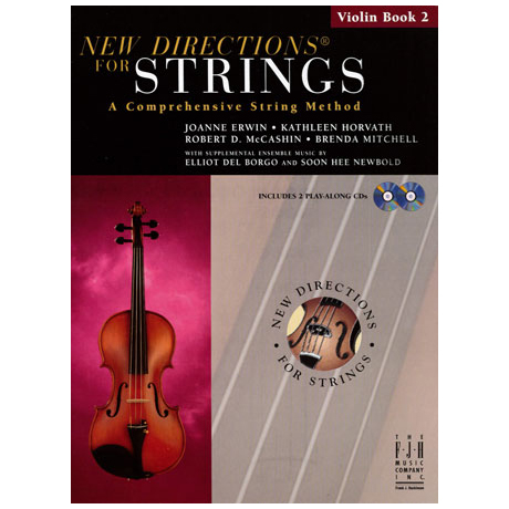 New Directions for Strings – Violin Book 2 (+CD)