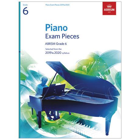 ABRSM: Piano Exam Pieces Grade 6 (2019-2020)