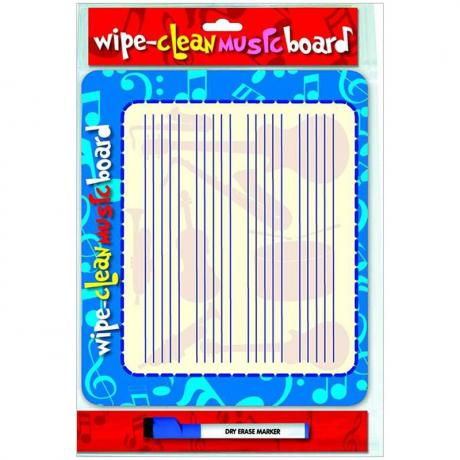 Notentafel – Wipe Clean Music Board