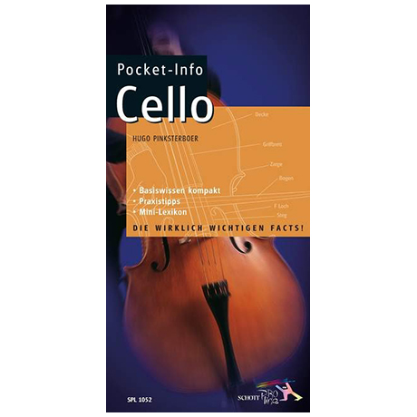 Pocket-Info Cello (H. Pinksterboer)