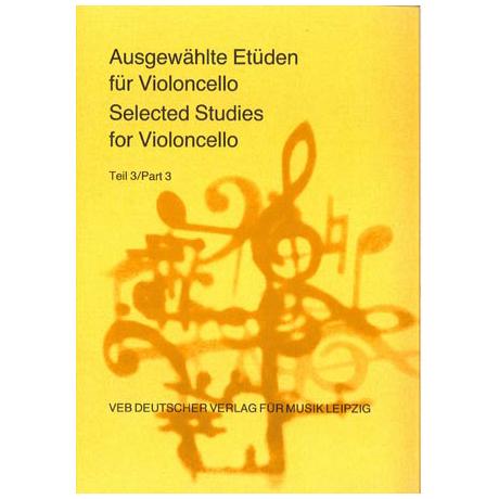 Lösche, H.: Ausgewählte Etüden für Violoncello Teil 3