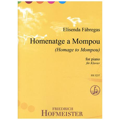 Fábregas, E.: Homenatge a Mompou
