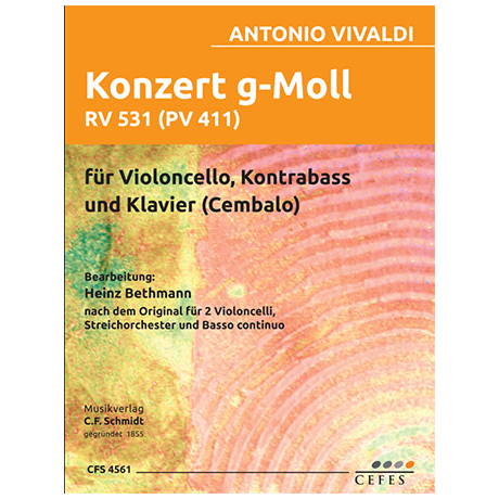 Vivaldi, A.: Konzert g-Moll RV531