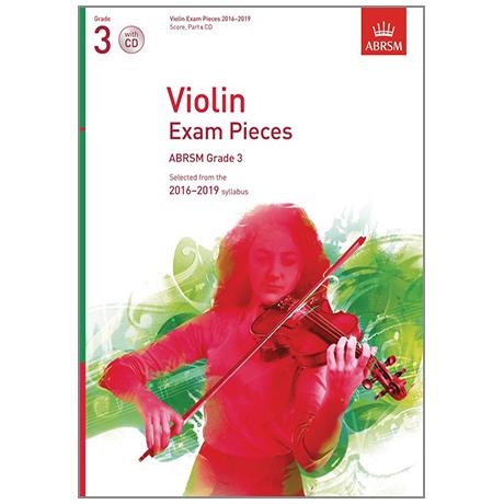 ABRSM: Violin Exam Pieces Grade 3 (2016-2019) (+CD)