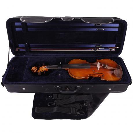 PACATO Livorno étui coffre violon 4/4 | noir/bleu