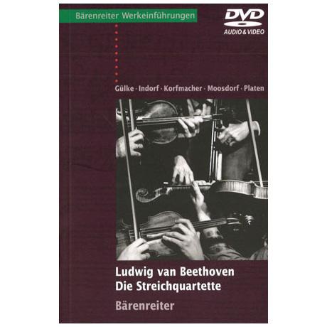 Ludwig van Beethoven - Die Streichquartette (mit Audio-Video-DVD)