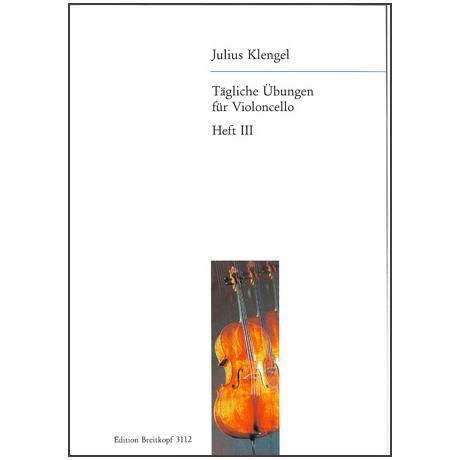 Klengel, J.: Tägliche Übungen Band 3: Übungen im Daumenaufsatz