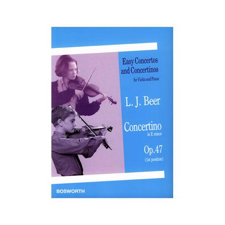 Beer, L. J.: Concertino Op. 47 e-Moll