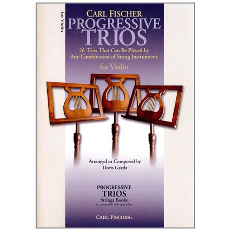Progressive Trios for Strings – Violin