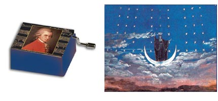 Boîte à musique: La Flûte Enchantée