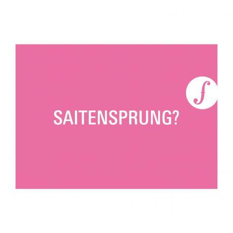 Carte postale SAITENSPRUNG?