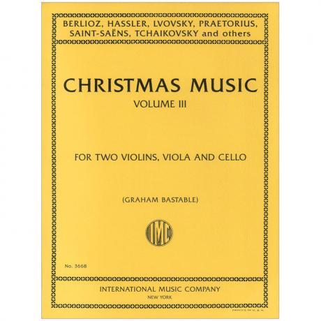 Weihnachtsmusik für Streichquartett Band 3