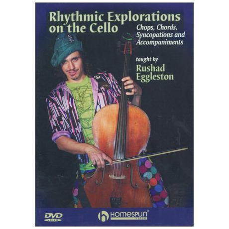 Egglestone, R.: Rhythmic Explorations On The Cello