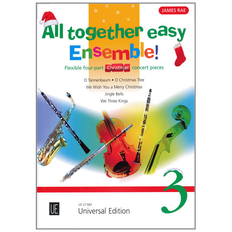 All together easy Ensemble! Band 3 - Christmas Concert Pieces