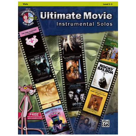 Ultimate Movie Instrumental Solos for Viola (+MP3-CD)